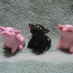 Three Little Pigs Soap Set